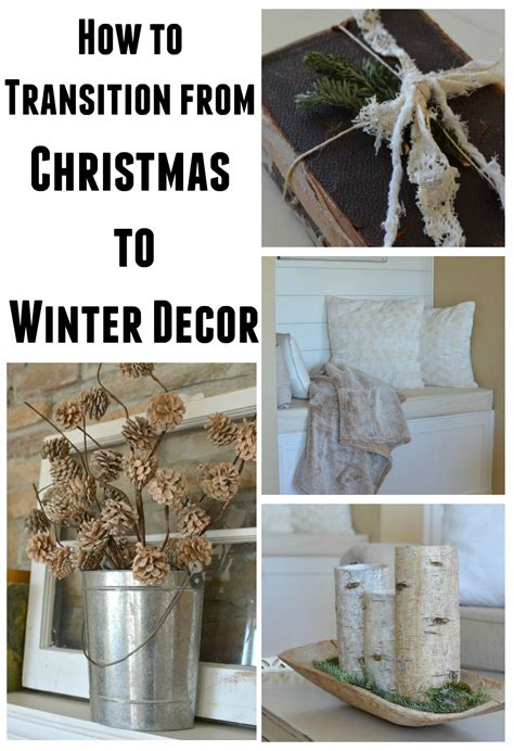winter home decorating ideas how to transition from to winter decor