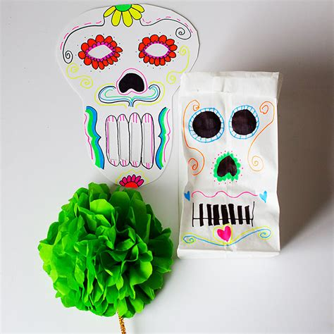 day of the dead crafts for day of the dead crafts 183 kix cereal