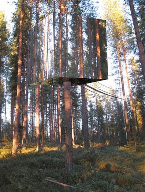 hotel tree mirrored tree hotel in sweden