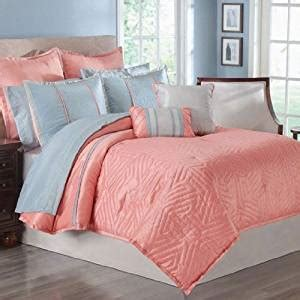 coral color comforter sets 16pc luxury coral comforter set