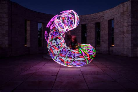 how to create beautiful light painting images with an