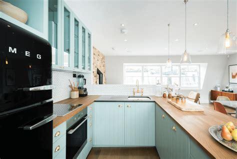 Pale Blue Kitchen Cabinets painted kitchen cabinet ideas freshome