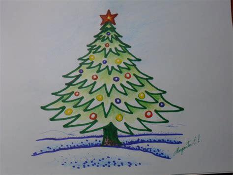 imagenes de un arbol de navidad c 243 mo dibujar un arbolito de navidad en caricatura 193 rbol