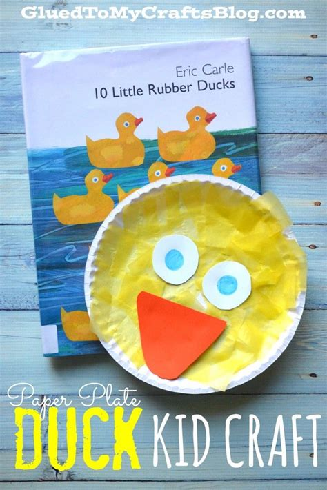paper plate duck craft 25 best ideas about duck crafts on chicken