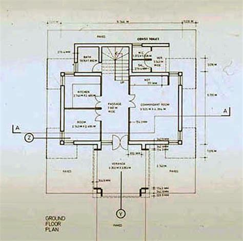 security floor plan security post b w drawing ground floor plan archnet