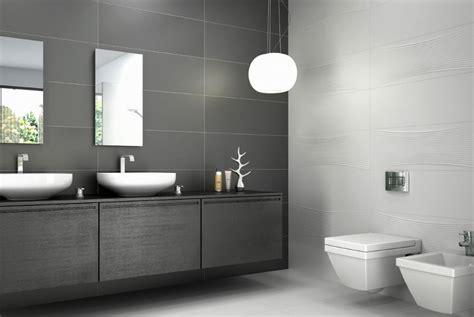 carrelage de salle de bain nano white anthracite porto venere