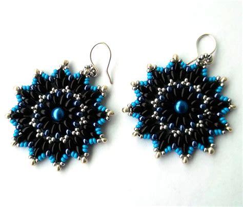 free patterns for beaded earrings earrings pattern magic