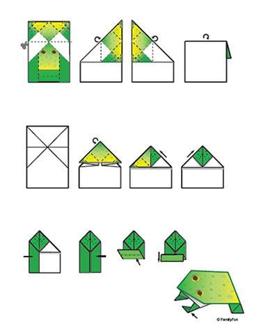 how to make an easy origami frog 17 best ideas about origami frog on easy