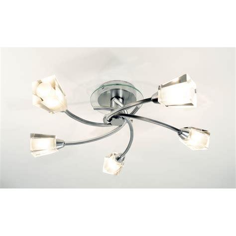 lights ceiling dar dar aus0550 5 light modern flush ceiling light