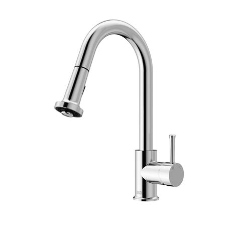 chrome kitchen faucets vigo chrome pull out spray kitchen faucet the home depot