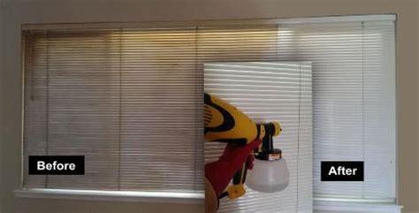 spray painting vertical blinds blind cleaner clean blinds wood mini venetian clean