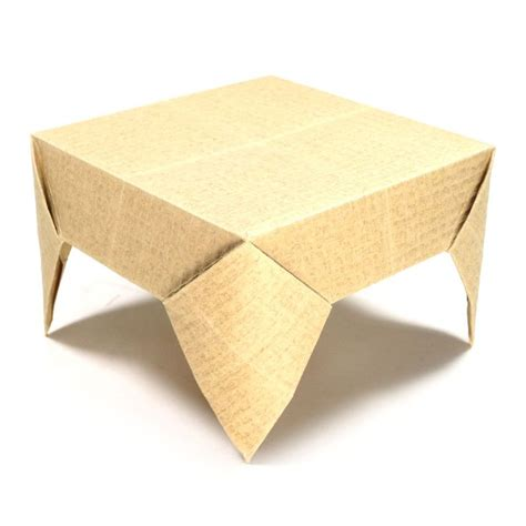 origami folding table 25 best ideas about origami table on paper