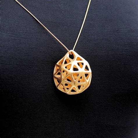 metal jewelry ideas 3d metal printed jewelry designs
