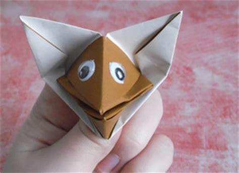 origami fox puppet 40 tutorials on how to origami a zoo