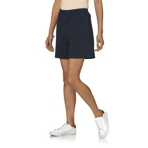 womens knit shorts basic editions s knit shorts
