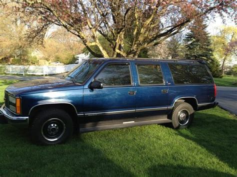 buy used 1993 gmc suburban sle 7 4l 2wd in indianapolis indiana united states for us 2 595 00