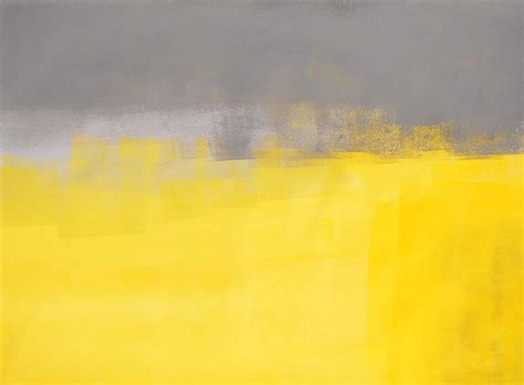 paint colors yellow and grey a simple abstract grey and yellow abstract painting