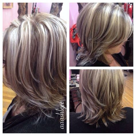 gray hair with lowlights 1000 ideas about gray highlights on pinterest gray hair