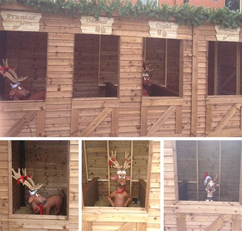 reindeer stable ho ho housing units we are brave