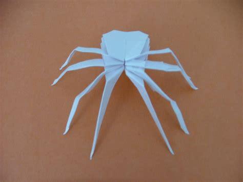 how to make origami spider origami spider by nagisaxtomoyax3 on deviantart