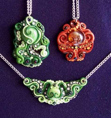 polymer clay for jewelry polymer clay necklaces by gimmeswords on deviantart