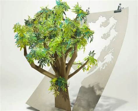paper tree craft beautiful papercraft tree pledges to save 6 500 acres of