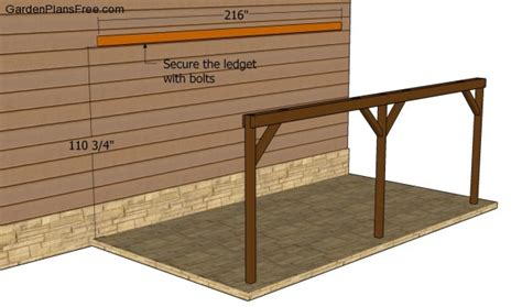carport building plans attached carport plans free garden plans how to build