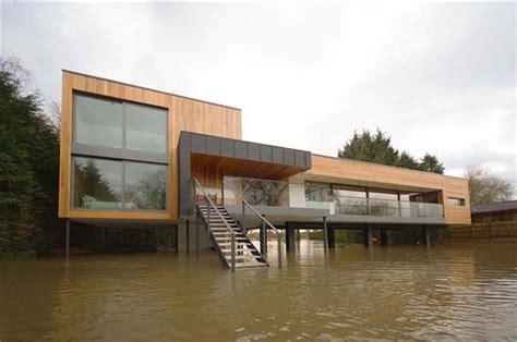 flood proof hind house in berkshire united kingdom