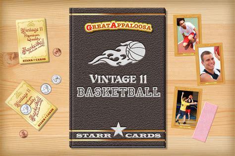 make your own basketball card custom basketball cards vintage 11 series cards