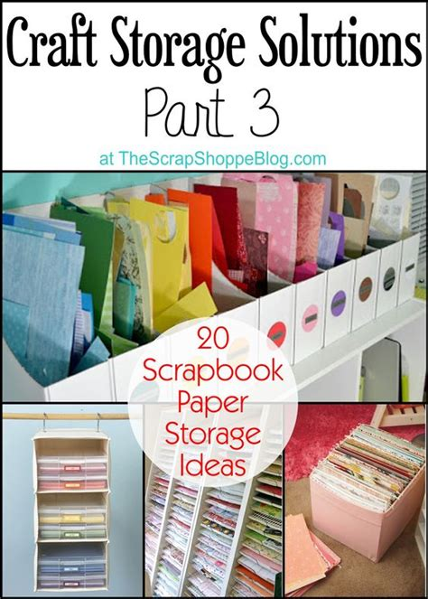 craft paper storage solutions 9 muses paper scraps crafts