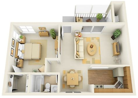 modern one bedroom apartment design 50 one 1 bedroom apartment house plans architecture