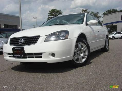 2005 Nissan Altima 2 5 by 2005 Satin White Pearl Nissan Altima 2 5 S 11092974