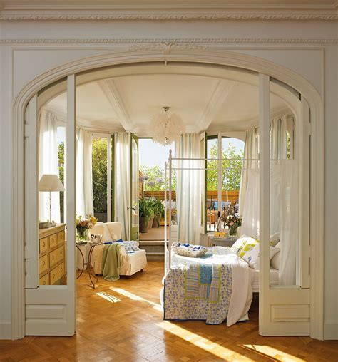 Romantic Bedroom Design romantic bedroom design with semicircular windows digsdigs