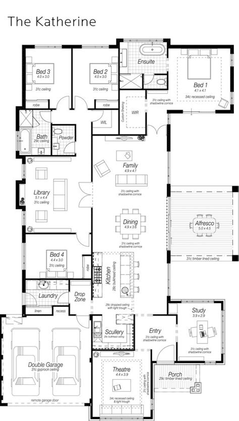 house plans with scullery kitchen 724 best images about homes 4 bedrooms on