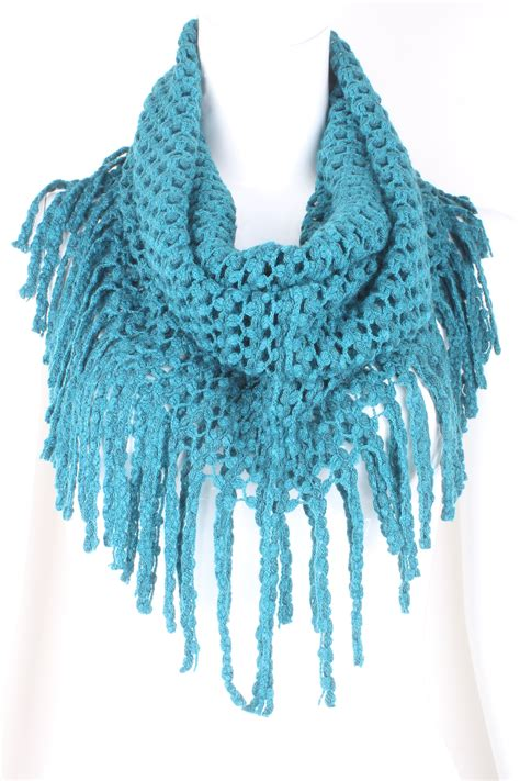 fringe on scarf knitting knit infinity fringe scarf scarves