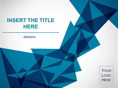 origami template origami free template for powerpoint and impress