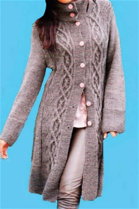 coat knitting pattern knit coat cable pattern alpaca cloud and merino