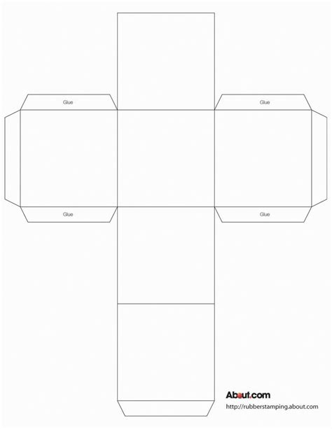how to make a cube out of card 25 best ideas about paper box template on