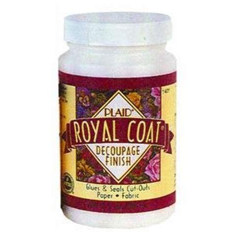royal coat decoupage finish plaid royal coat decoupage finish 16 oz