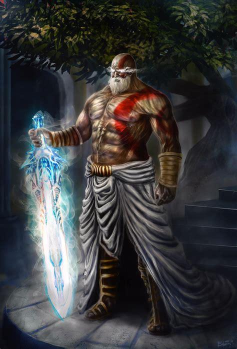 of gods kratos the god of gods by lituzen05 on deviantart