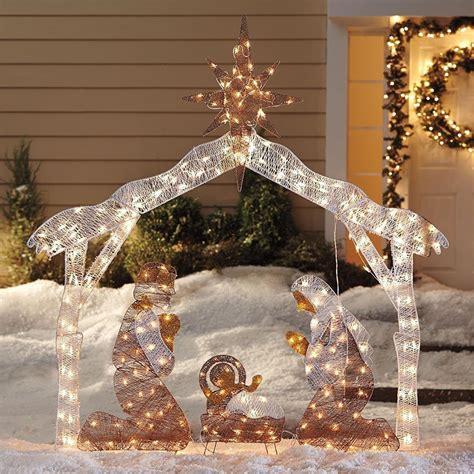nativity decorations outdoor nativity set best outdoor