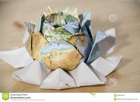 origami world origami world flower stock photo image 46681534