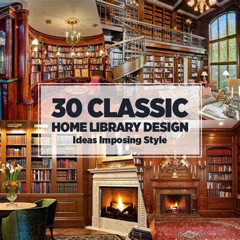 classic decorating ideas 30 classic home library design ideas imposing style
