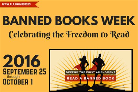 banned picture books banned books week honors freadom to read princeton