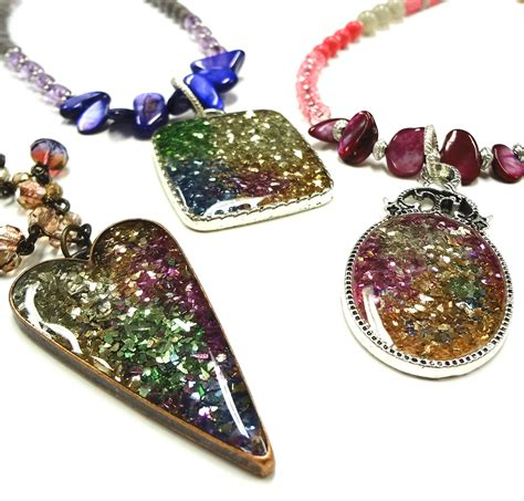 resin jewelry resin crafts jewelry resin and stendous glass glitter