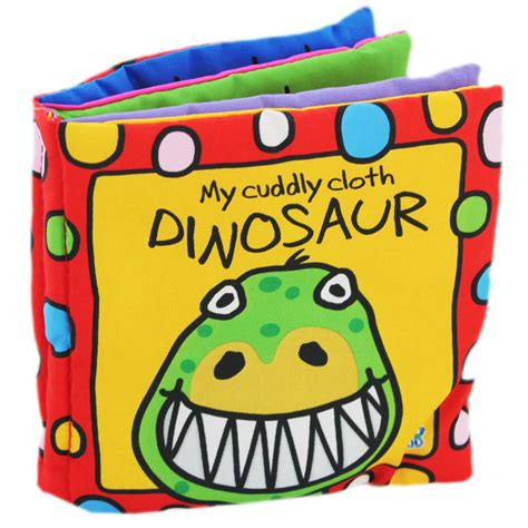 picture books for babies busy baby cloth book cuddly dinosaur by horne