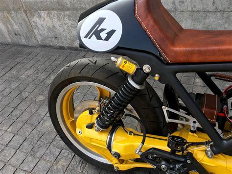 Modified Bmw K100 by Bmw K1 Cafe Racer Modified Original Rear Suspension Bmw