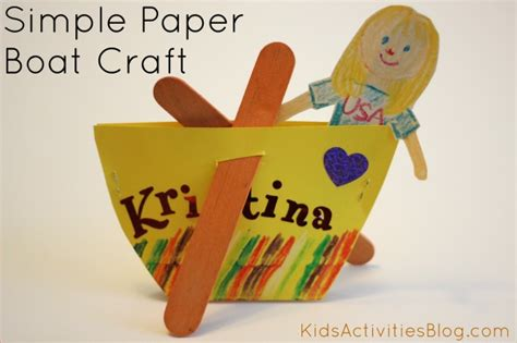 simple paper craft for preschoolers crafts for an easy sand activity for sunday