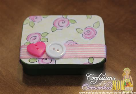 unique craft projects unique craft ideas altoid tin projects