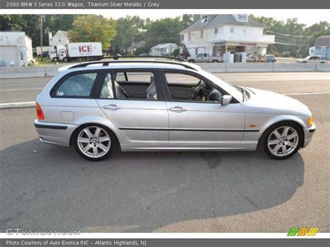 2000 Bmw 323i Wagon by 2000 Bmw 3 Series 323i Wagon In Titanium Silver Metallic